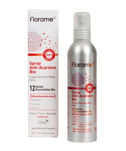 spray anti acariens bio florame 180 ml. Black Bedroom Furniture Sets. Home Design Ideas
