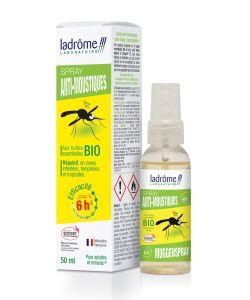 spray anti moustiques aux huiles essentielles ladr me 50 ml. Black Bedroom Furniture Sets. Home Design Ideas