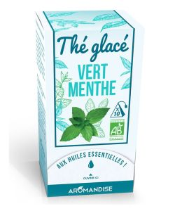 th vert menthe th glac bio aromandise 10 sachets. Black Bedroom Furniture Sets. Home Design Ideas