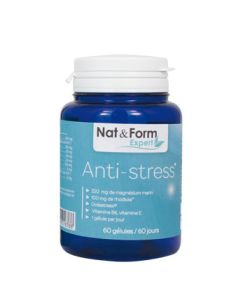 anti stress magn sium marin rhodiola nat form 60 g lules. Black Bedroom Furniture Sets. Home Design Ideas
