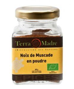 Noix de muscade bio terra madre 40 g for Noix de muscade cuisine
